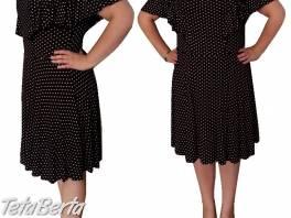 Čierne šaty v. 50/52 , Móda, krása a zdravie, Oblečenie  | Tetaberta.sk - bazár, inzercia zadarmo
