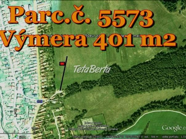 SNV Harichovce 401 m2 - AKCIA DO KONCA ROKA , foto 1 Reality, Pozemky   Tetaberta.sk - bazár, inzercia zadarmo