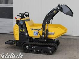 mini dumper Yanmar C08 so samonakladacím zariadenim, (možný aj prenájom) , Poľnohospodárske a stavebné stroje, Stavebné stroje  | Tetaberta.sk - bazár, inzercia zadarmo