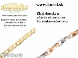 Náramky zo žltého zlata KORAI , Móda, krása a zdravie, Hodinky a šperky  | Tetaberta.sk - bazár, inzercia zadarmo