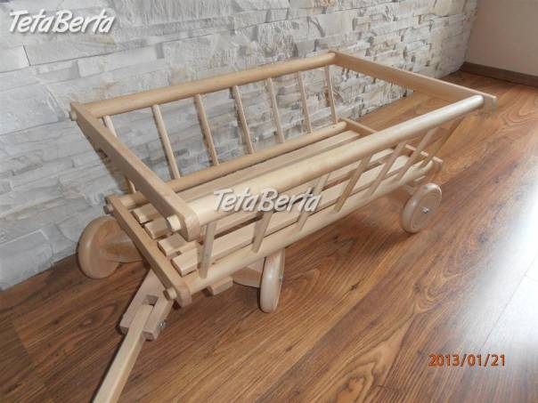 Vozik - rebrinak, foto 1 Dom a záhrada, Záhradný nábytok, dekorácie | Tetaberta.sk - bazár, inzercia zadarmo