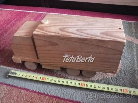 Predám drevené autíčko., foto 1 Pre deti, Hračky   Tetaberta.sk - bazár, inzercia zadarmo