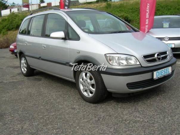 Opel Zafira 2.0DTi 74kW 7 mist ASR  klima Al kola, foto 1 Auto-moto, Automobily | Tetaberta.sk - bazár, inzercia zadarmo