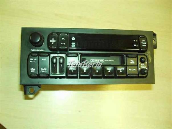 Chrysler Grand Voyager Autorádia - výprodej, foto 1 Auto-moto | Tetaberta.sk - bazár, inzercia zadarmo