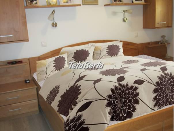posteľ XXL -spálňová zostava masív - výhodne predám, foto 1 Dom a záhrada, Nábytok, police, skrine | Tetaberta.sk - bazár, inzercia zadarmo