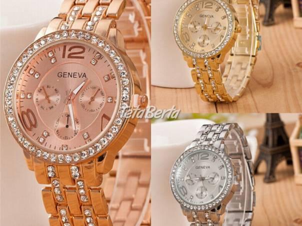 Luxusné dámske hodinky zn. Geneva, foto 1 Móda, krása a zdravie, Hodinky a šperky | Tetaberta.sk - bazár, inzercia zadarmo