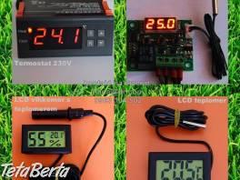 Digitalny termostat, LCD vlhkomer, teplomer liahen , Zvieratá, Hospodárske zvieratá  | Tetaberta.sk - bazár, inzercia zadarmo