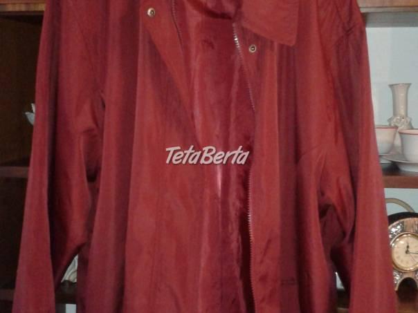 Prechodná vínovočervená bunda, foto 1 Móda, krása a zdravie, Oblečenie   Tetaberta.sk - bazár, inzercia zadarmo