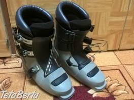 Predám detské lyžiarky Botas. Vnútorná veľkosť topánky cca 23 cm. Vonkajšia veľkosť topánky cca 30 cm. .