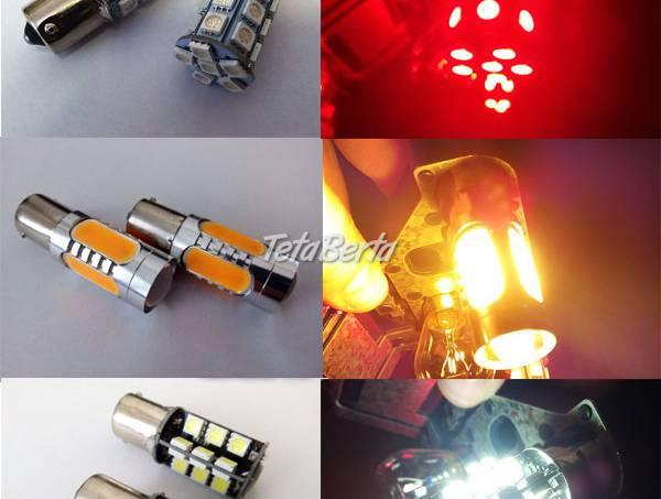 Oranžové/ biele / červené LED BA15S silné - kvalita LACNO , foto 1 Auto-moto, Tuning | Tetaberta.sk - bazár, inzercia zadarmo