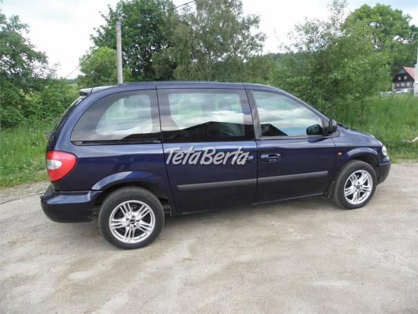Chrysler Voyager CHRISLER VOYAGER 2,8CRDI SE, foto 1 Auto-moto, Automobily | Tetaberta.sk - bazár, inzercia zadarmo