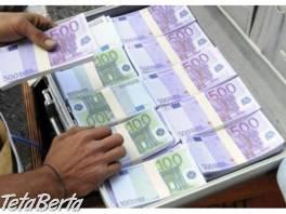 Spoľahlivý a rýchly úver medzi súkromným , Práca, Ostatné  | Tetaberta.sk - bazár, inzercia zadarmo