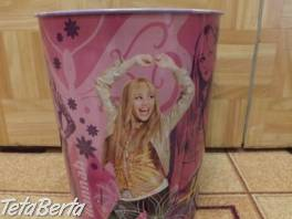 Kôš odpadkový Hannah Montana. , Pre deti, Školské potreby  | Tetaberta.sk - bazár, inzercia zadarmo
