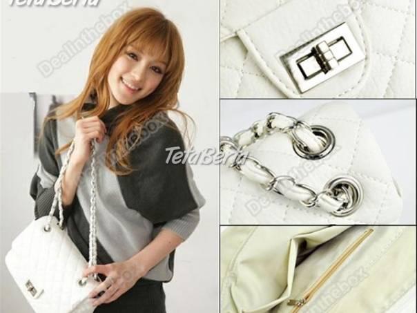 Predám úplne novú krásnu bielu kabelku na štýl Chanel s retiazkovým  ramienkom  54b4624dc39