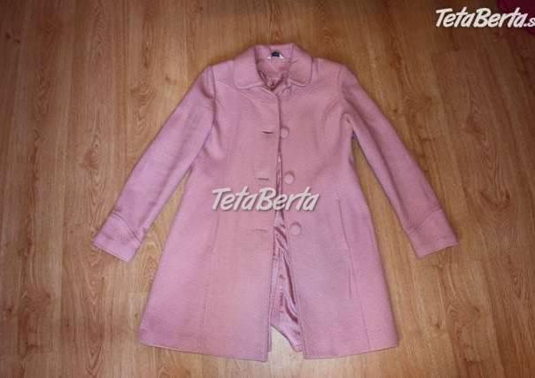 f6df46c51 predám ružový kabát, foto 1 Móda, krása a zdravie, Oblečenie | Tetaberta.