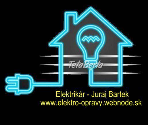 Elektrikár Bratislava - nonstop, foto 1 Dom a záhrada, Svietidlá, koberce a hodiny | Tetaberta.sk - bazár, inzercia zadarmo