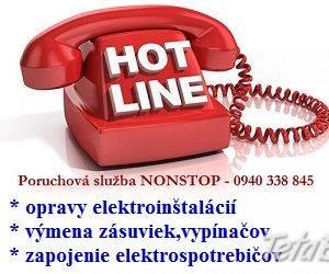 Elektrikár Bratislava – NONSTOP, foto 1 Obchod a služby, Stroje a zariadenia | Tetaberta.sk - bazár, inzercia zadarmo
