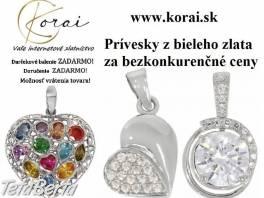 Prívesky z bieleho zlata od KORAI , Móda, krása a zdravie, Hodinky a šperky    Tetaberta.sk - bazár, inzercia zadarmo