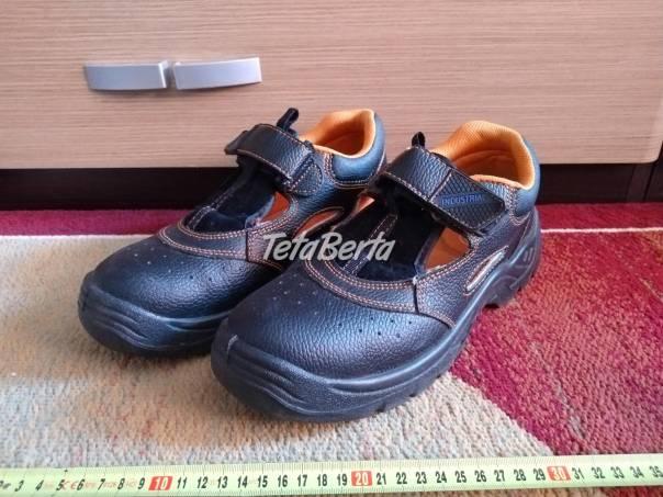 Predám nové pracovné topánky., foto 1 Móda, krása a zdravie, Obuv | Tetaberta.sk - bazár, inzercia zadarmo