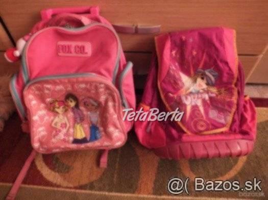 Predám školskú tašku, tmavoružovú., foto 1 Pre deti, Školské potreby | Tetaberta.sk - bazár, inzercia zadarmo