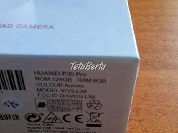 Huawei P30 Pro 128GB device, foto 1 Elektro, Mobilné telefóny | Tetaberta.sk - bazár, inzercia zadarmo