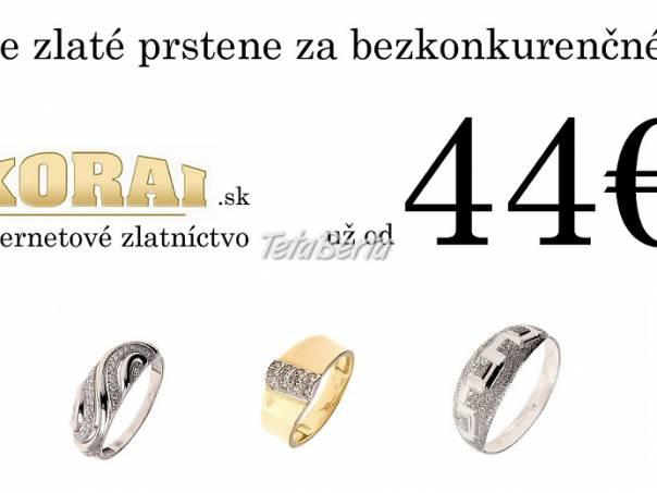 b725aec8a Dámske zlaté prstene už od 44€!, Prešovský kraj, Prešov - Móda ...