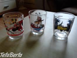 Sklenené poháre s motívom , Hobby, voľný čas, Umenie a zbierky  | Tetaberta.sk - bazár, inzercia zadarmo