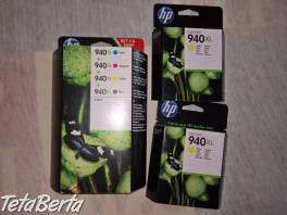 Predám atramentové kazety HP 940 XL , Elektro, Tlačiarne, skenery, monitory  | Tetaberta.sk - bazár, inzercia zadarmo