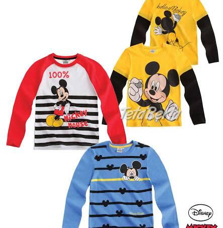 3a5b9c9a7 Tričko Disney Mickey Mouse s dlhým rukávom, foto 1 Pre deti, Detské  oblečenie