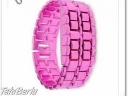 Parádne dámske LED Samurai hodinky ružové ! , Móda, krása a zdravie, Hodinky a šperky  | Tetaberta.sk - bazár, inzercia zadarmo