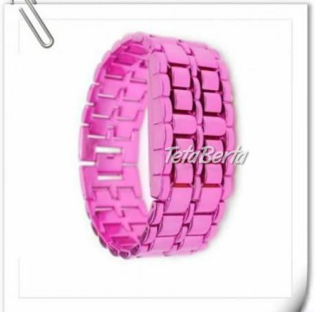 Parádne dámske LED Samurai hodinky ružové !, foto 1 Móda, krása a zdravie, Hodinky a šperky | Tetaberta.sk - bazár, inzercia zadarmo