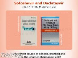 Náklady na sofosbuvir (400 mg) / daklatasvir (60 mg) v Indii - veľkoobchodný dodávateľ liekov , Móda, krása a zdravie, Starostlivosť o zdravie  | Tetaberta.sk - bazár, inzercia zadarmo