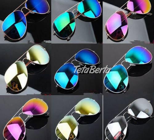Farebné zrkadlové slnečné okuliare, foto 1 Móda, krása a zdravie, Okuliare   Tetaberta.sk - bazár, inzercia zadarmo
