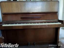 Predám pianino Scholze so stoličkou , Hobby, voľný čas, Film, hudba a knihy  | Tetaberta.sk - bazár, inzercia zadarmo