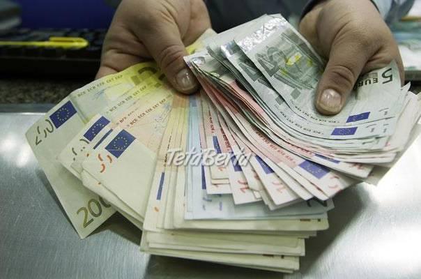 Rýchle a výhodné pôžičky., foto 1 Obchod a služby, Financie | Tetaberta.sk - bazár, inzercia zadarmo