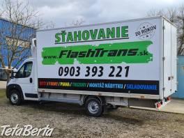 Flashtrans,ponúka služby v oblasti sťahovania,autodopravy , Obchod a služby, Preprava tovaru    Tetaberta.sk - bazár, inzercia zadarmo