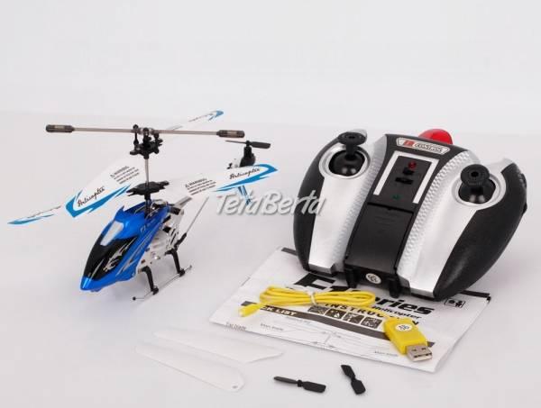 RC vrtuľník s LED svetlom na diaľkové ovládanie, foto 1 Pre deti, Hračky | Tetaberta.sk - bazár, inzercia zadarmo