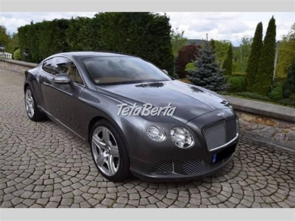 Bentley Continental GT GT V12 MULLINER, foto 1 Auto-moto, Automobily | Tetaberta.sk - bazár, inzercia zadarmo