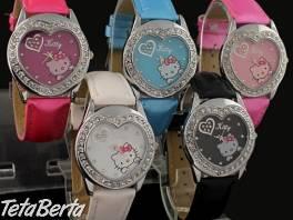 Hello Kitty hodinky srdce , Móda, krása a zdravie, Hodinky a šperky    Tetaberta.sk - bazár, inzercia zadarmo