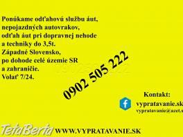 Odťahová služba do 3,5t , Auto-moto, Automobily  | Tetaberta.sk - bazár, inzercia zadarmo