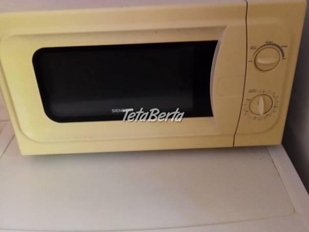mikrovlnka, foto 1 Elektro, Drobná domáca elektronika | Tetaberta.sk - bazár, inzercia zadarmo