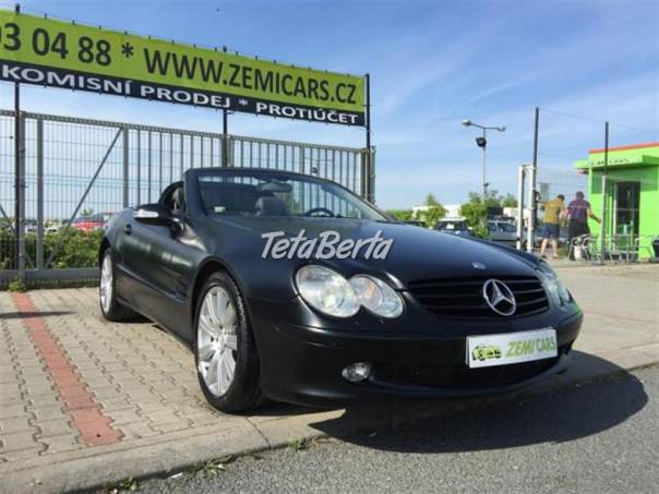 Mercedes-Benz Třída SL 500,TOP STAV,VÝHŘEV,akce, foto 1 Auto-moto, Automobily | Tetaberta.sk - bazár, inzercia zadarmo