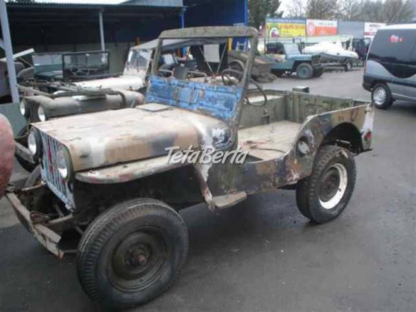 Willys M38, foto 1 Auto-moto, Automobily | Tetaberta.sk - bazár, inzercia zadarmo