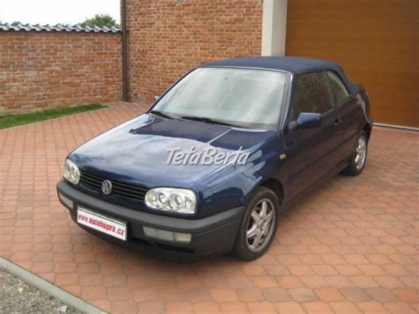 Volkswagen Golf Cabrio 1,8i Carman,automat,xen, foto 1 Auto-moto, Automobily | Tetaberta.sk - bazár, inzercia zadarmo