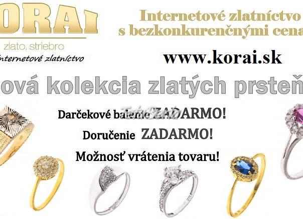 875d88778 Zlaté prstene KORAI, nová kolekcia, super ceny, foto 1 Móda, krása a