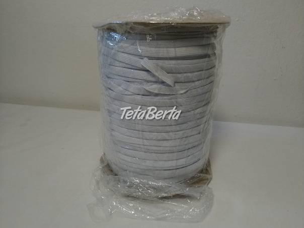 Biela prádlová guma 9 mm, návin 300 m, foto 1 Móda, krása a zdravie, Doplnky a príslušenstvo | Tetaberta.sk - bazár, inzercia zadarmo