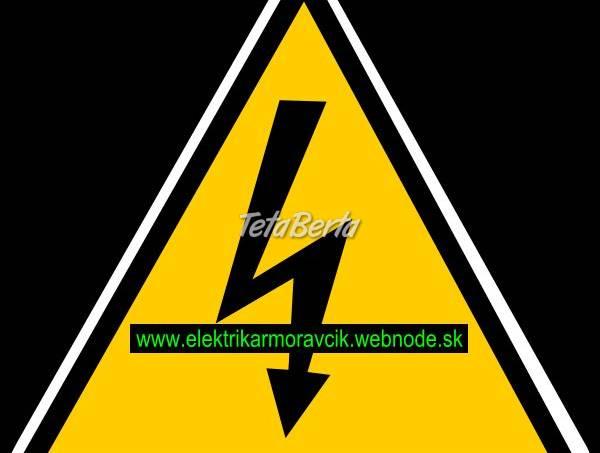 Elektrikár Bratislava - poruchová služba, foto 1 Obchod a služby, Stroje a zariadenia   Tetaberta.sk - bazár, inzercia zadarmo