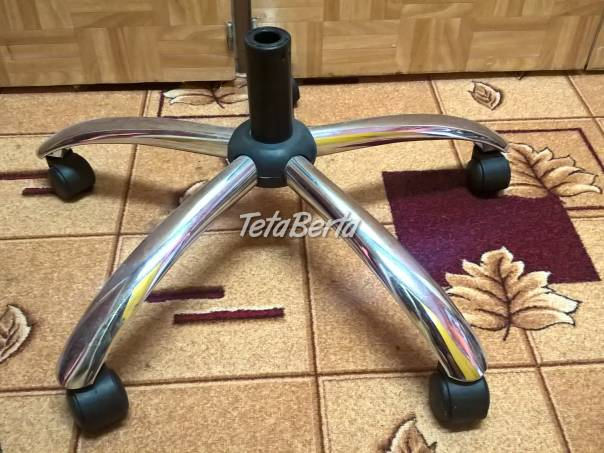 Predám kovový kríž s kolieskami na stoličku., foto 1 Dom a záhrada, Stoly, pulty a stoličky | Tetaberta.sk - bazár, inzercia zadarmo