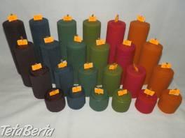 Farebná sada voskových sviečok , Dom a záhrada, Ostatné  | Tetaberta.sk - bazár, inzercia zadarmo