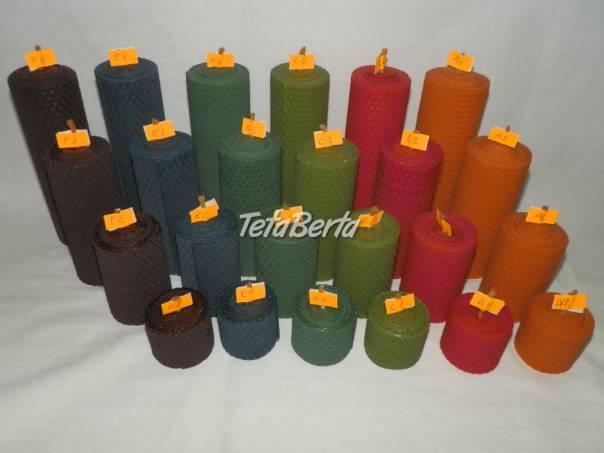 Farebná sada voskových sviečok, foto 1 Dom a záhrada, Ostatné | Tetaberta.sk - bazár, inzercia zadarmo